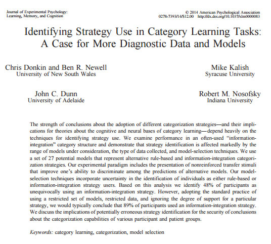 journal of experimental psychology learning memory and cognition pdf